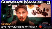 Fisher F75 Ltd V2.0 Review Part 1 Unboxing, Aufbau, Eindrücke