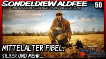 Fisher F75 Ltd V2.0 Mittelalter Fibel, Silber und mehr